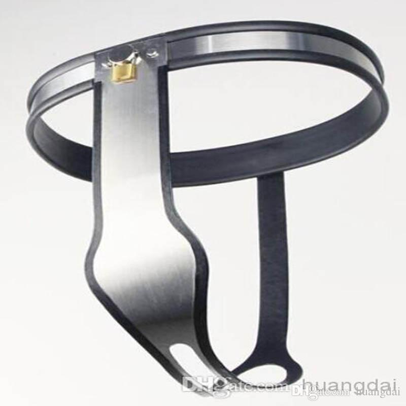 Più nuova cinghia di castità d'acciaio femminile di tipo T spedizione gratuita