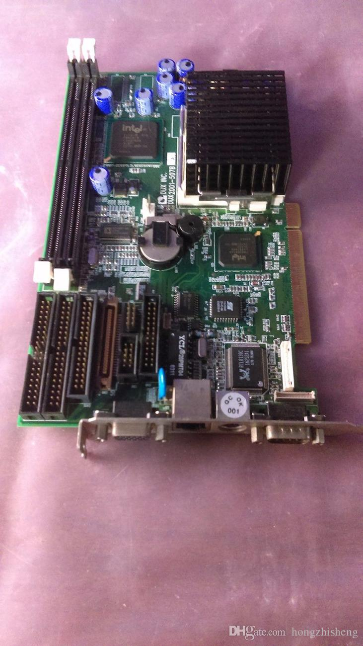 DUX INC. DUX2001-507B ADP-507-01 Industrial Motherboard INTEL CELERON TM 733MHZ 100% tested working,used, good condition with warranty