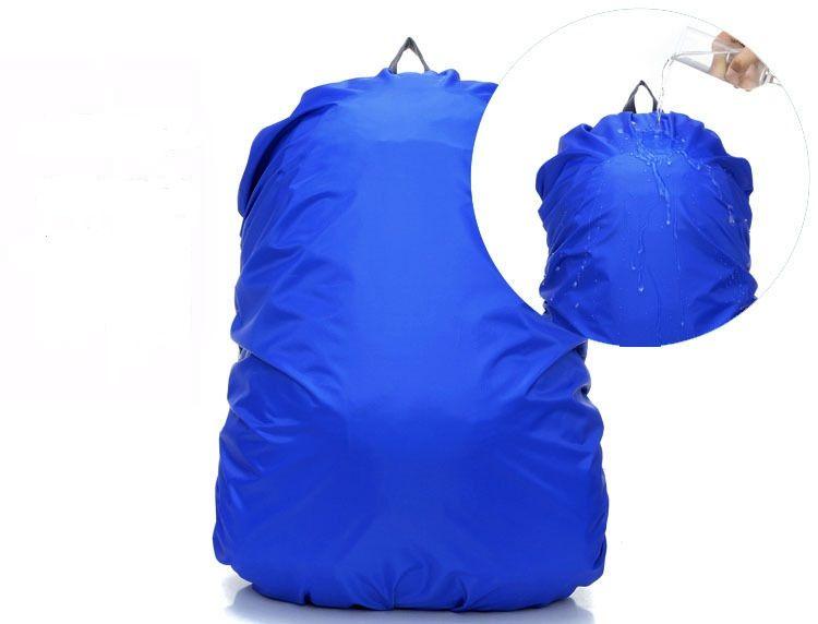 Capa de chuva à prova d 'água para Viagem Camping Caminhadas Ao Ar Livre Ciclismo Escola Mochila Saco de Bagagem Poeira Capa de Chuva 7 Cores