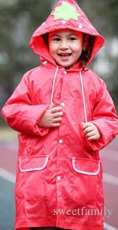 Kids children Raincoat Rainwear/Rainsuit Kids Waterproof Animal Raincoat poncho Funny Rain Coat