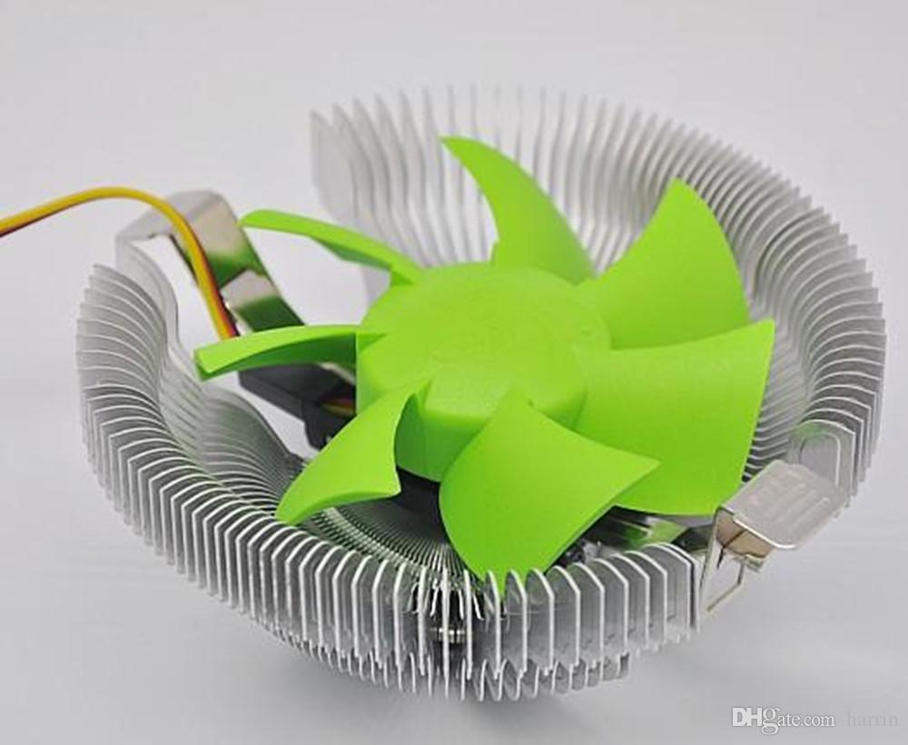 Moda Siyah Elektronik PC Dizüstü Bilgisayar Ağ Aksesuarları Alüminyum CPU Hayranları Soğutucu Radyatör Soğutma Pedleri 2917