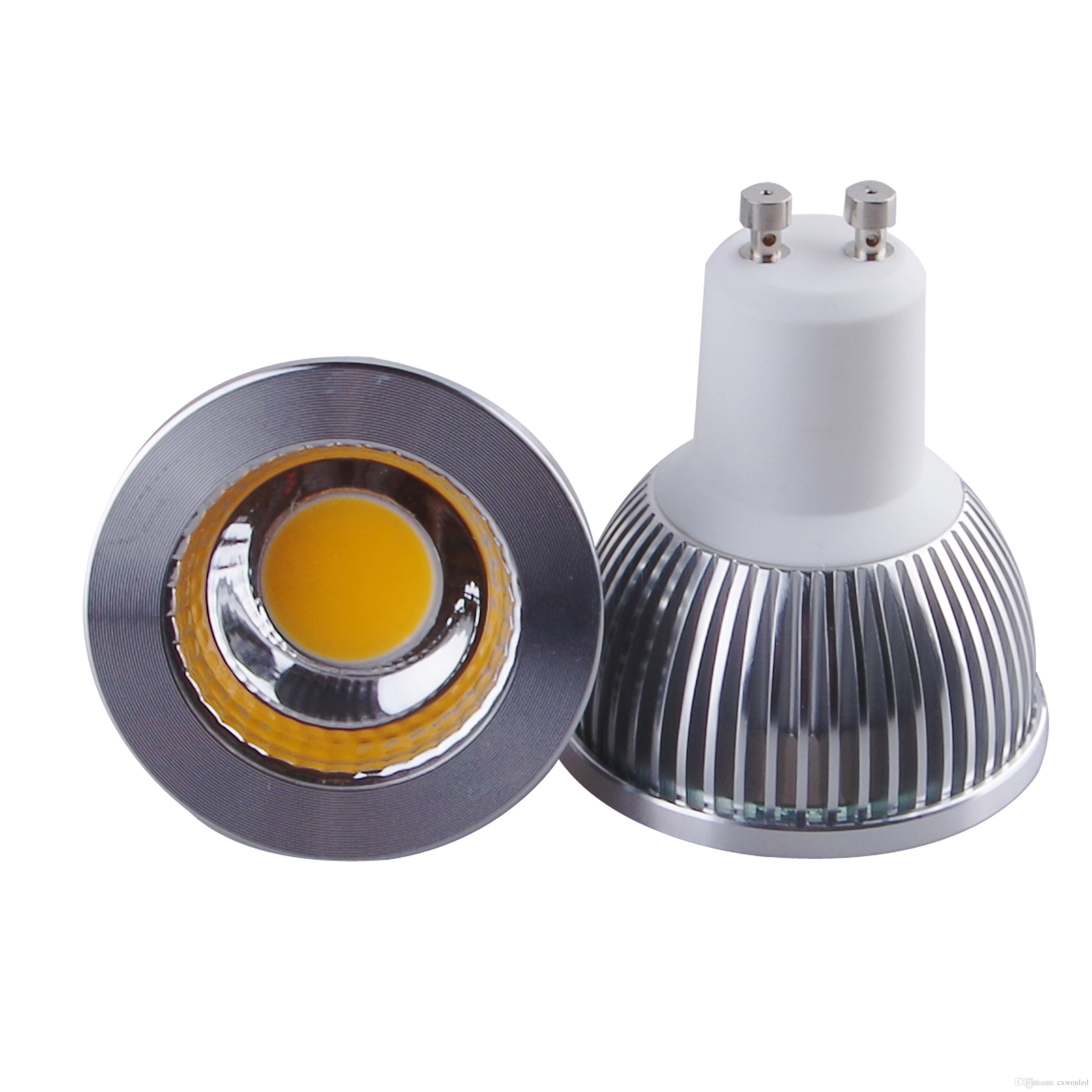 Dimmable Cree Gu10 Mr16 E27 Gu5 3 Cob Led Bulb Light 5w Led Spot
