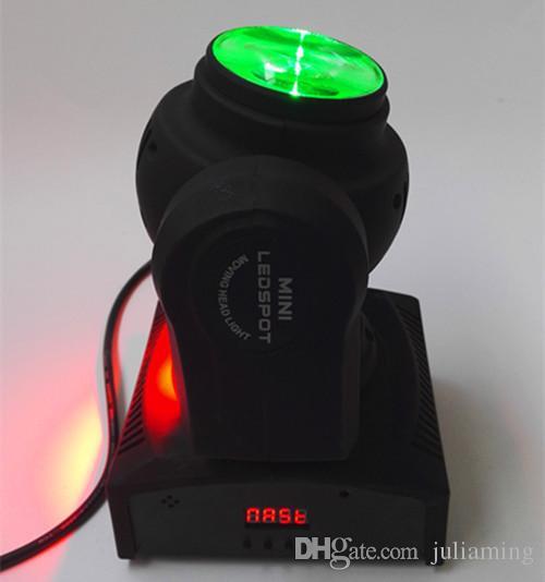 Cabeza móvil de iluminación de escenario, doble cara doble, dos lados, 4 en 1, RGBW, 4 * 10w, 10w, haz, LED