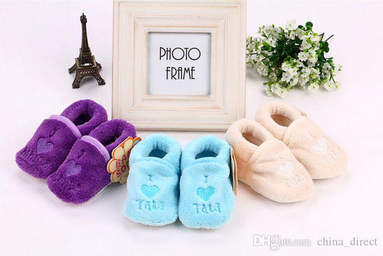 아기 신발 양말 유아 양말 소년 신발 Gilrs 신발 부팅 / # 2218