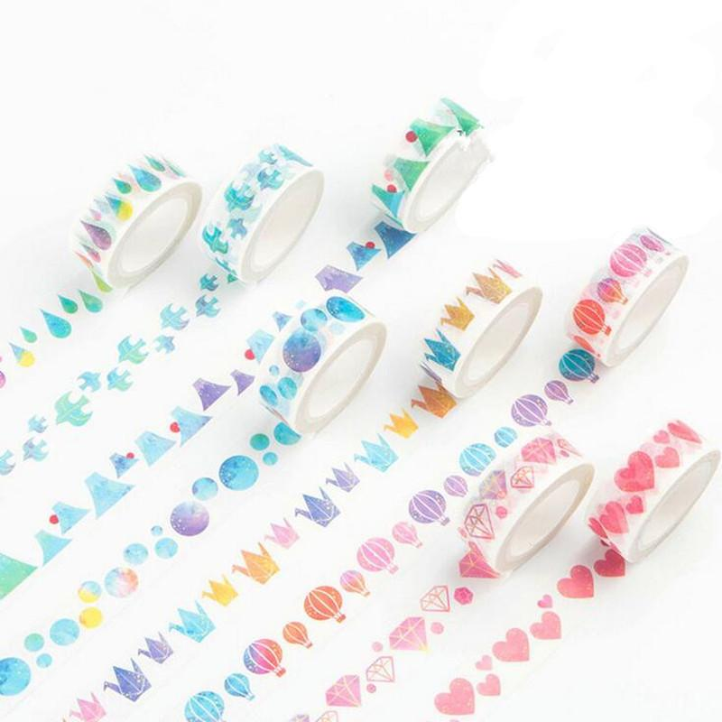 fashion watercolor paper tape vintage masking tapes decoration