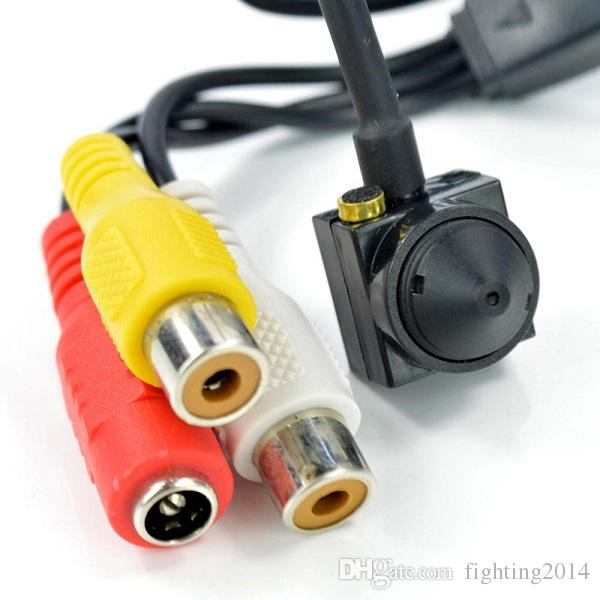 """700TVL 5MP Mini CCTV Camera 1/4"""" CMOS Color DIY Micro Camera Mini DVR Audio Video Pinhole Camera Home Security Surveilance CCTV Cam"""