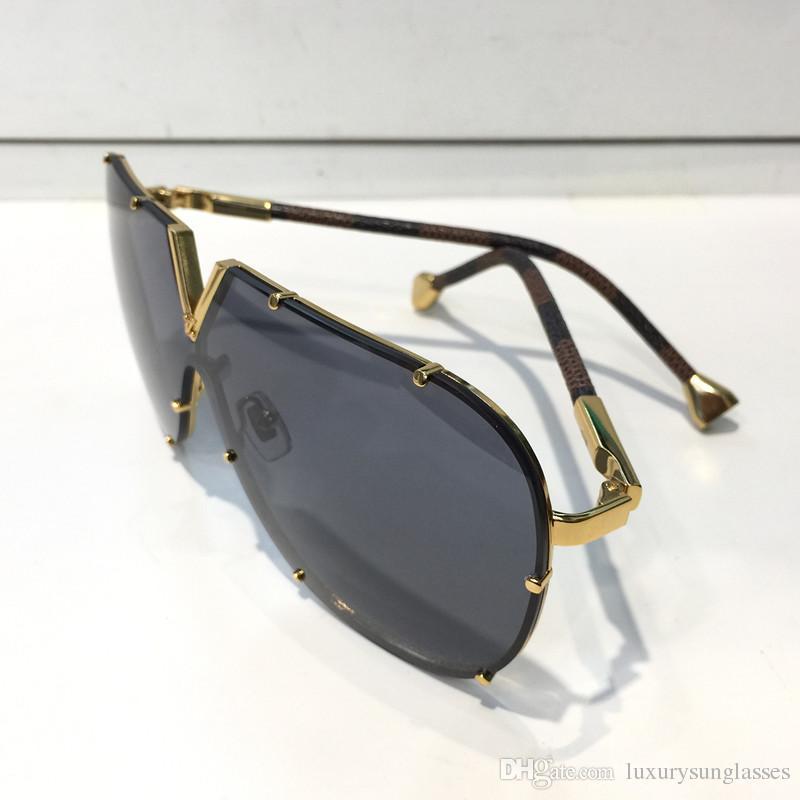 0926 homens mulheres designer óculos de sol moda oval óculos de sol uv proteção de lente de revestimento de lente de espelho de lente sem moldura quadro banhado a cores vêm com caixa