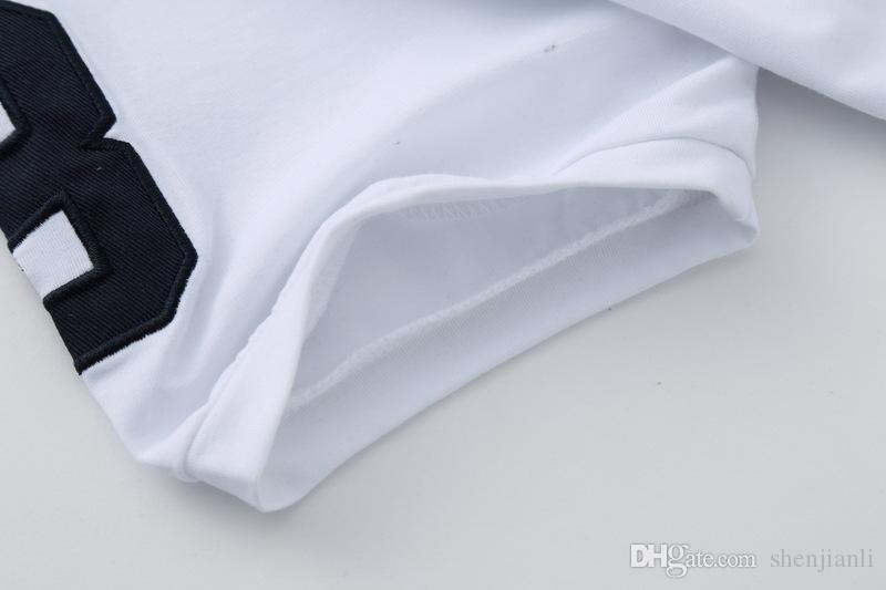 Freies verschiffen 2017 hochwertige baumwolle neue oansatz kurzarm t-shirt marke männer t-shirts casual flagge für sport männer polo
