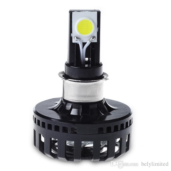 Personalizado 12 v 24 v 8-36 v hi lo feixe de carro h4 levou lâmpadas de farol motocicleta luzes de condução led cob lascas de cabeça luzes