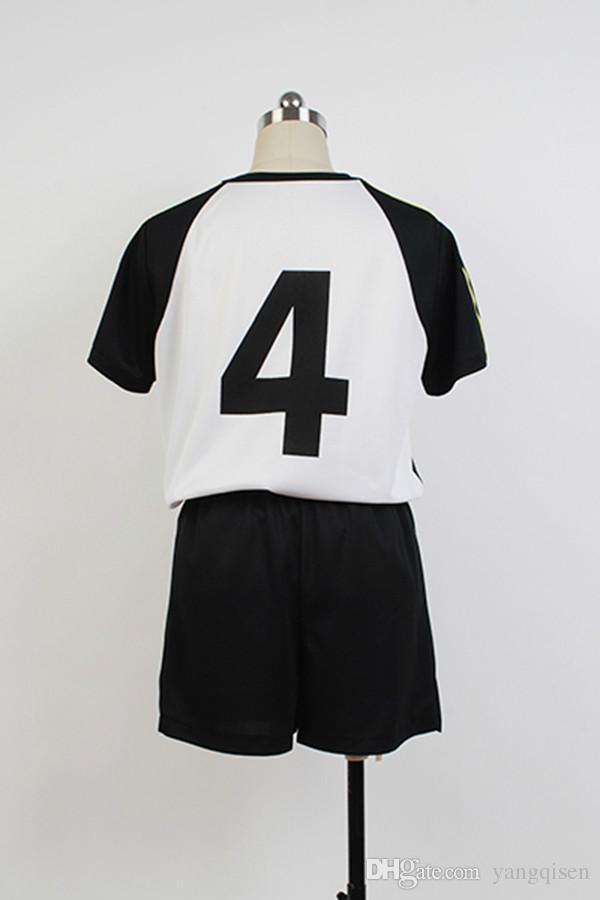 Sur mesure haikyuu uniforme de Fukurodani équipe Bokuto Koutarou haikyuu Cosplay Costume Jersey usure uniforme