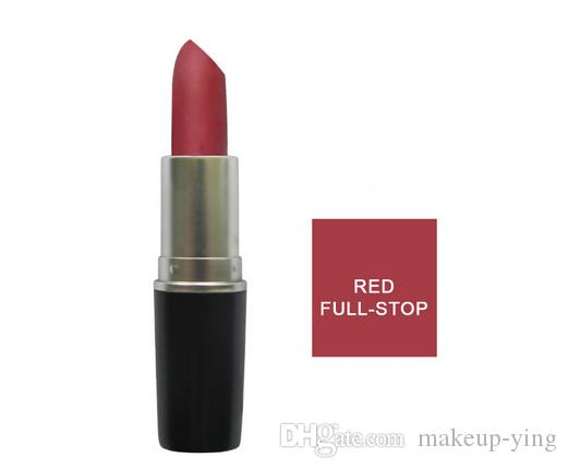 Free DHL Shipping! AAA quality brand Make up Matte Ruby Woo Heroine Velvet Teddy Lipstick 3G Long-lasting Lipstick. 12-mix color