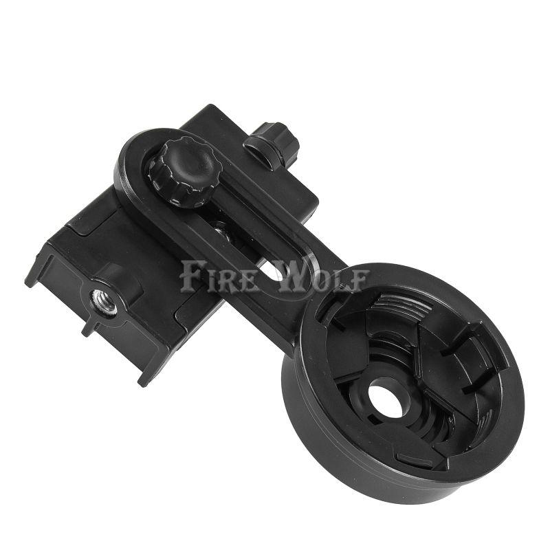 FIRE WOLF Smartphone Adapter - محول التلسكوب - محول Digiscoping لاكتشاف الإكتشاف نطاقات أحادي العين تلسكوب للخارجية