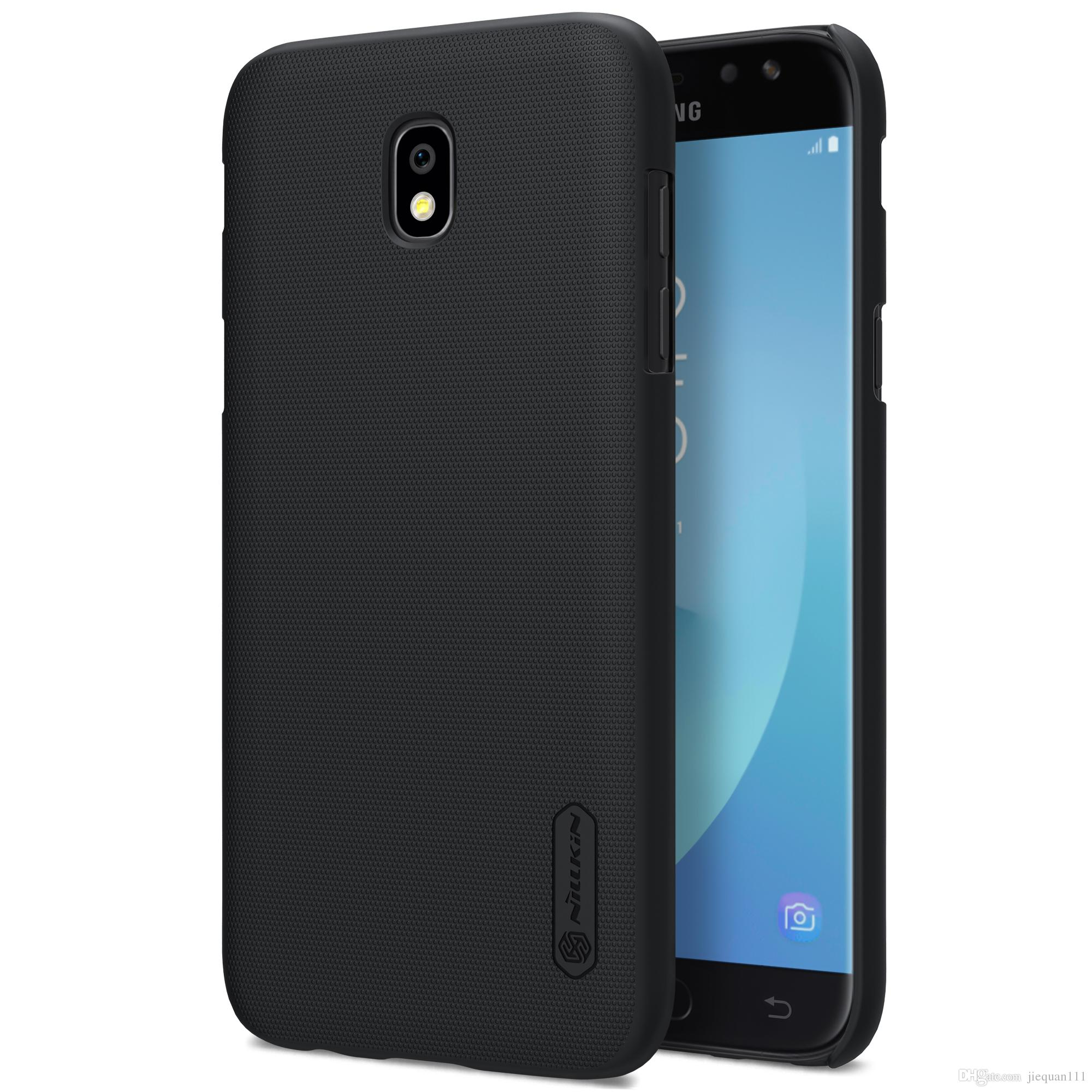 Case For Samsung Galaxy J Samsung Galaxy J5 Case Nillkin Super Frosted Shield Matte Hard Back Cover Case With Free Screen Protector Ballistic Cell