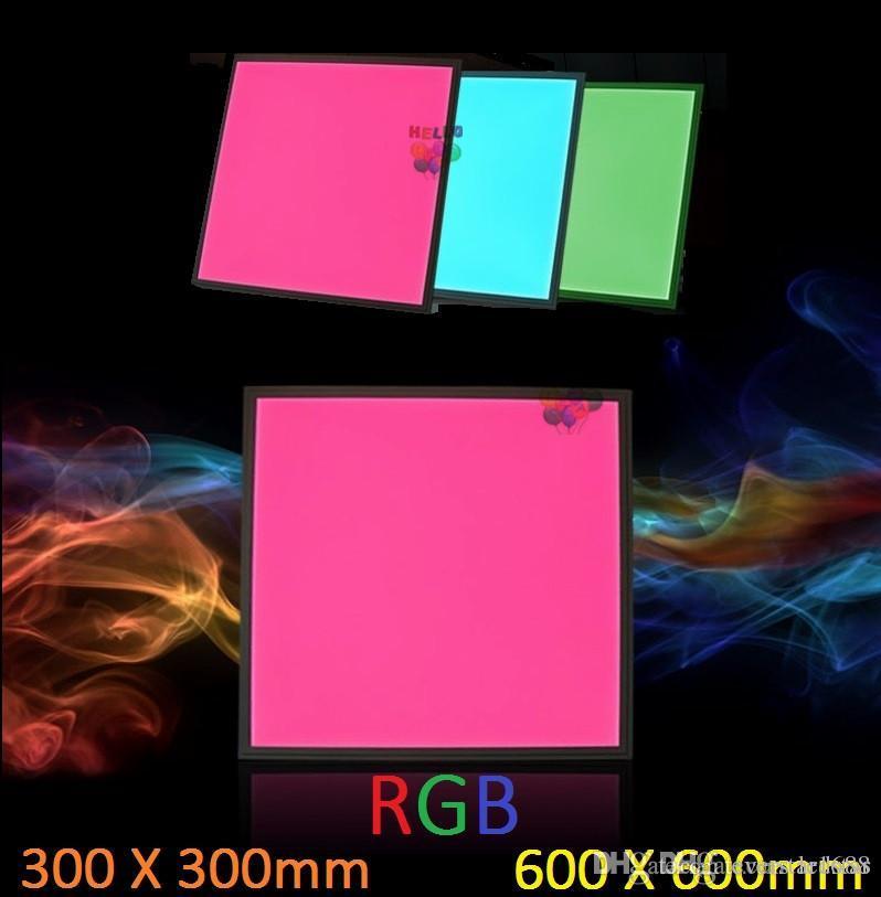 300x300 600x600 RGB Led Panel Ceiling Light 18W 36W Led Light Panel