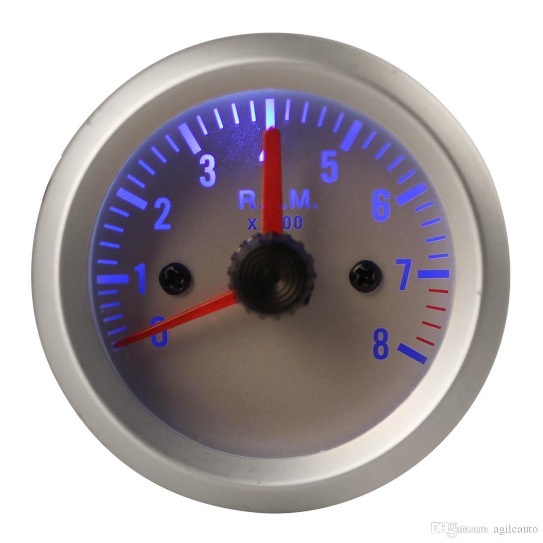 Tachymètre Blue Couleur 8000 Light Argent Tr Auto 0 ~ Min Acheter j54ARL