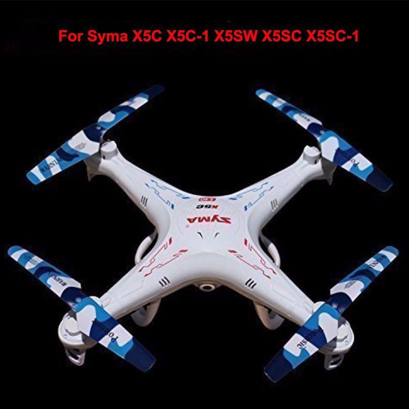 2016 новое прибытие Syma X5C запасные части Camo лопасти винта для X5 X5A X5C X5S X5SC X5W X5SW RC Quadcopter