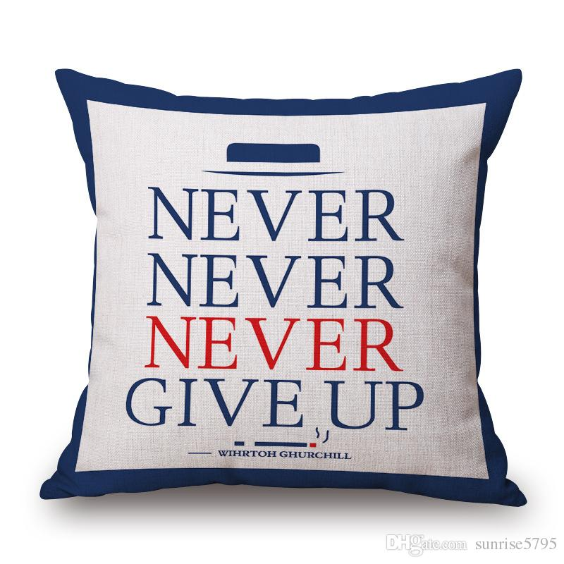 london royal guard cushion cover euro pillow case union jack funda cojin letters cojines sofa chair almofadas