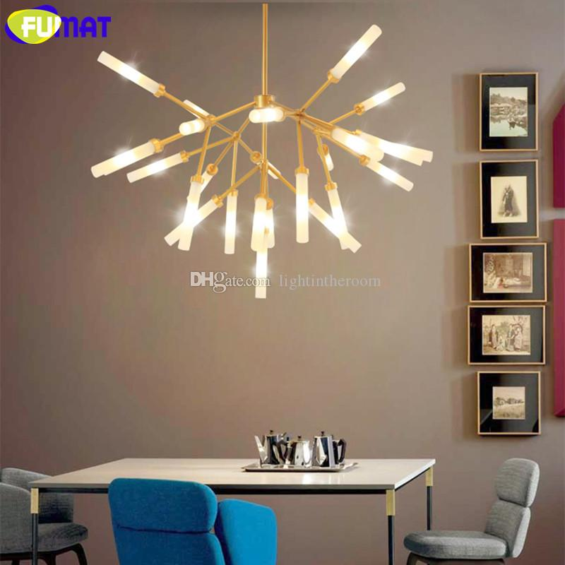 Fumat Modern Metal Branch Light Fixtures Living Room Bedroom Art G4