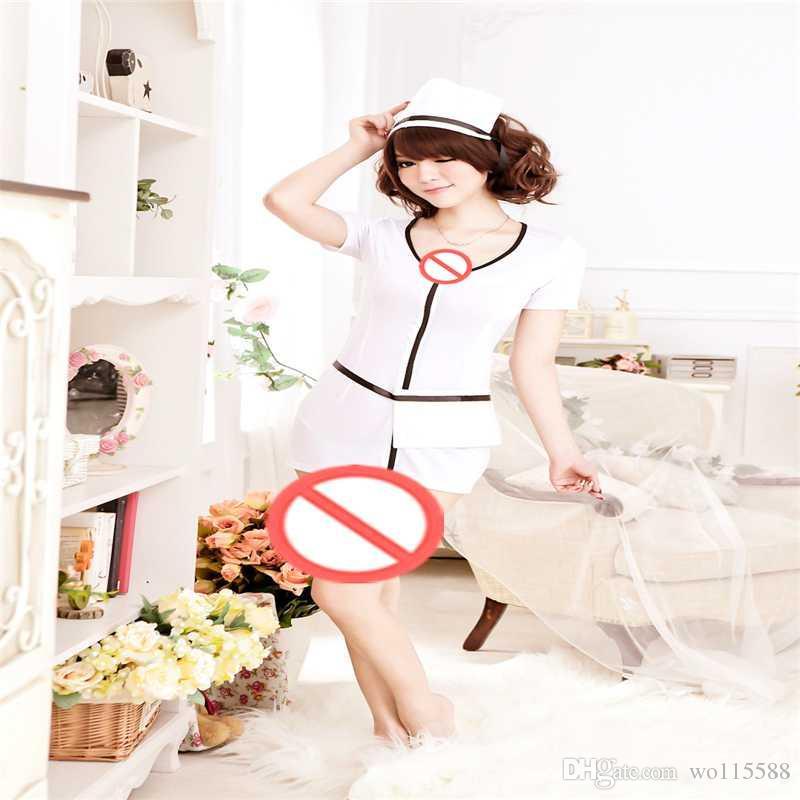무료 배송 섹시한 란제리 역할을 성인 간호사 유니폼을 포함 성인 섹시 란제리 투명한 양씨 씨 엉덩이 패키지 힙합 라이브 쇼