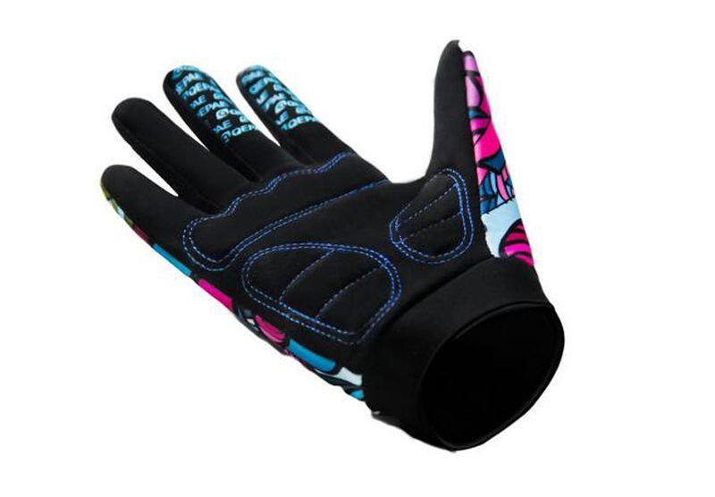 Neue Stil Männer Fahrrad Reiten Alle Finger Reiten Handschuhe Outdoor Sports Rutschigen Trolley Lange Fingerhandschuhe