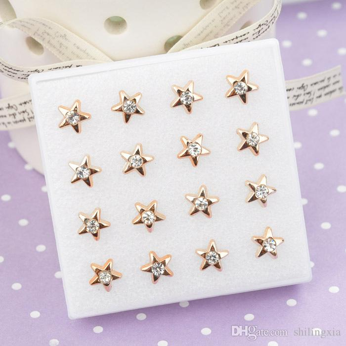 168 pares Pendiente Joyería Lotes Gancho de oro Estilos mixtos Hoja de flores Corazón Pendientes colgantes de las mujeres Libre de gotas de la nave
