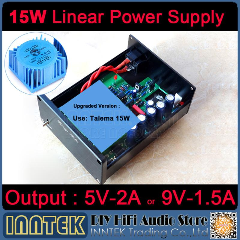 Freeshipping 15W Talema Linear Power Supply Regulated power supply Refer to  STUDER900 support 5V/2A or 9V/1 5A Output