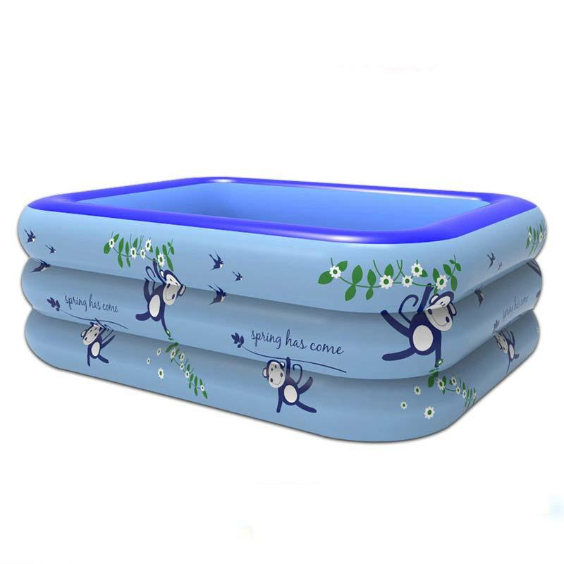 2018 Wholesale Sports Swimming Pool Size 13011555cm Kids Children Plastic Inflatable Outdoor Swim Pools From Prescott