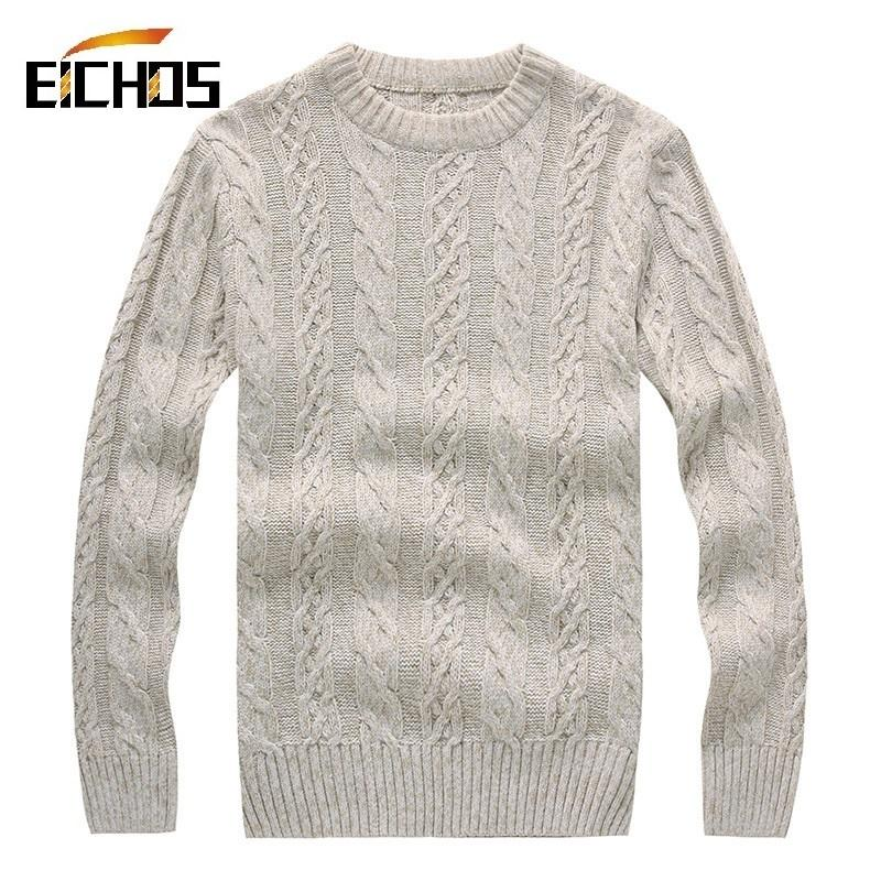 2017 Wholesale Men Knit Sweater Thick Winter Pullover Men'S ...