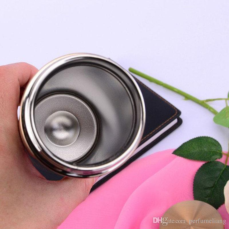 350 мл термос чашки вакуумная колба путешествия офис Кубок двойной стены из нержавеющей стали кофе Чашка чая бизнес-вечеринку подарок ZA3276
