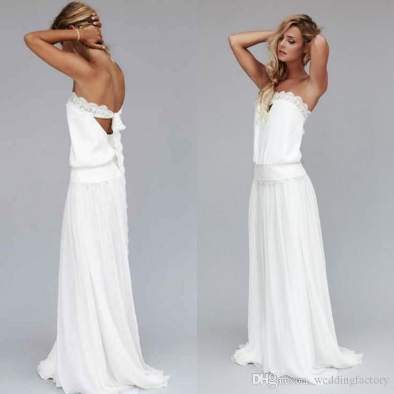 compre 2017 vestido de boda del país de los años 20 barato vestido