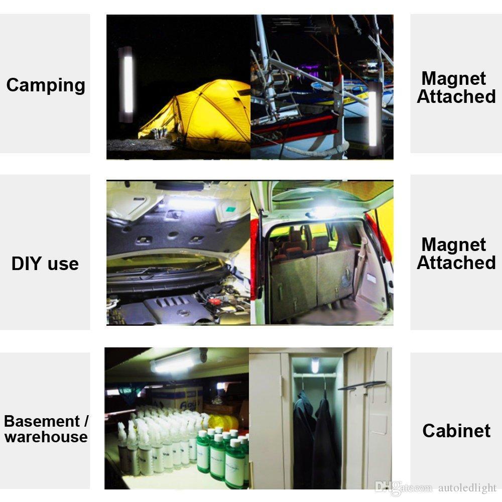 Фонари светодиодные аварийные световые светильники для наружного перезаряжаемого портативного 3-уровневого регулируемой яркости USB зарядки SOS