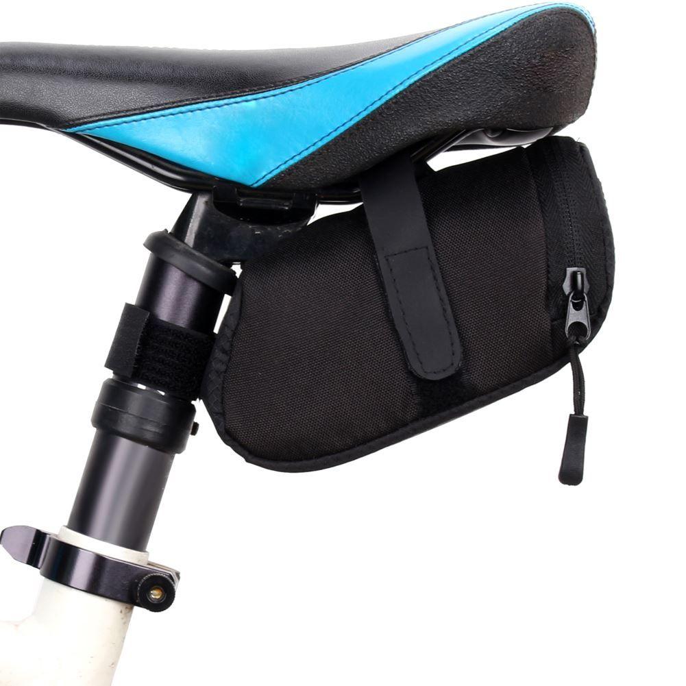 Saco de bicicleta Da Bicicleta Da Bicicleta À Prova D 'Água De Armazenamento Saddle Bag Assento de Ciclismo Cauda Traseira Saco Bolsa de Sela Bolsa Bicicleta