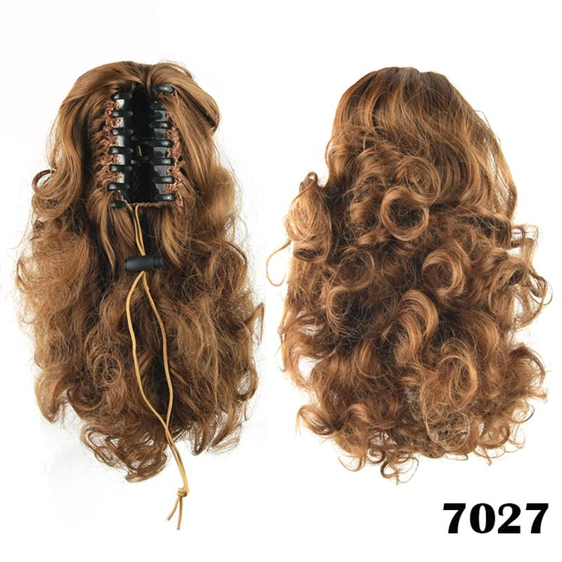 Wholesale 14inch Short Women Synthetic Hair Curly Bundles Fake
