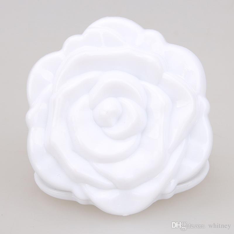 Piękne 3d Cute Rose Compact Cosmetic Lustro Składane Makup Lustro Małe Tanie Lustro MD51 Darmowa Wysyłka
