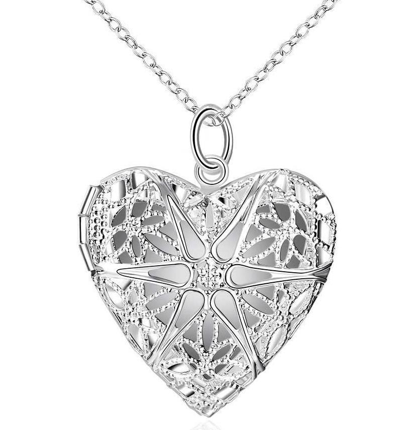 Wholesale Pendant Necklaces Long Necklace Charm Romantic Heart ...
