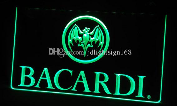 LS306-p Bacardi Banner Flag Neon Light Sign.jpg