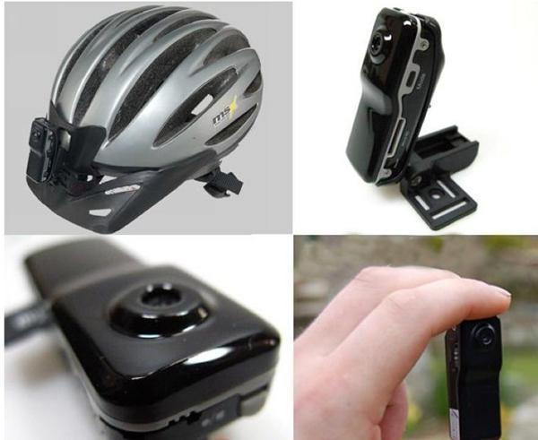 Mini DVR HD Mini Kamera Sport DV Video Recorder Kamera Auto DVR Helm Kamera mit Barcket + Clip MD80