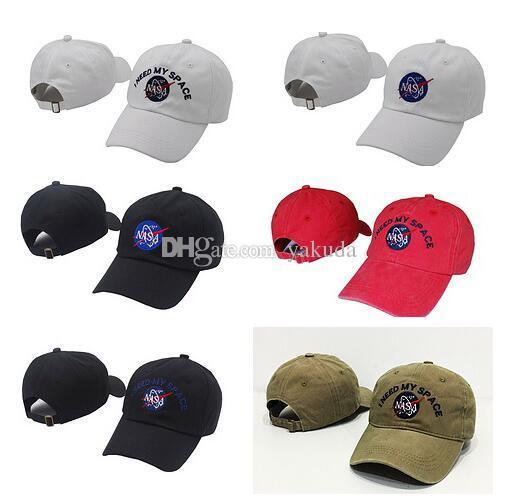 NASA I NEED MY SPACE Snapback Caps Adjustable Football Snap Back ... 126719c3aa33