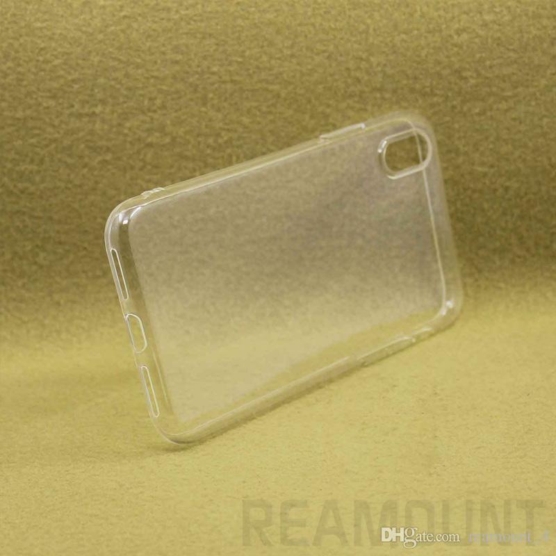 Großhandel UV-Druck transaprent Blank Telefon-Kasten für iPhone 6 6 Plus 7 7 Plus-weiche TPU Handy-Shell