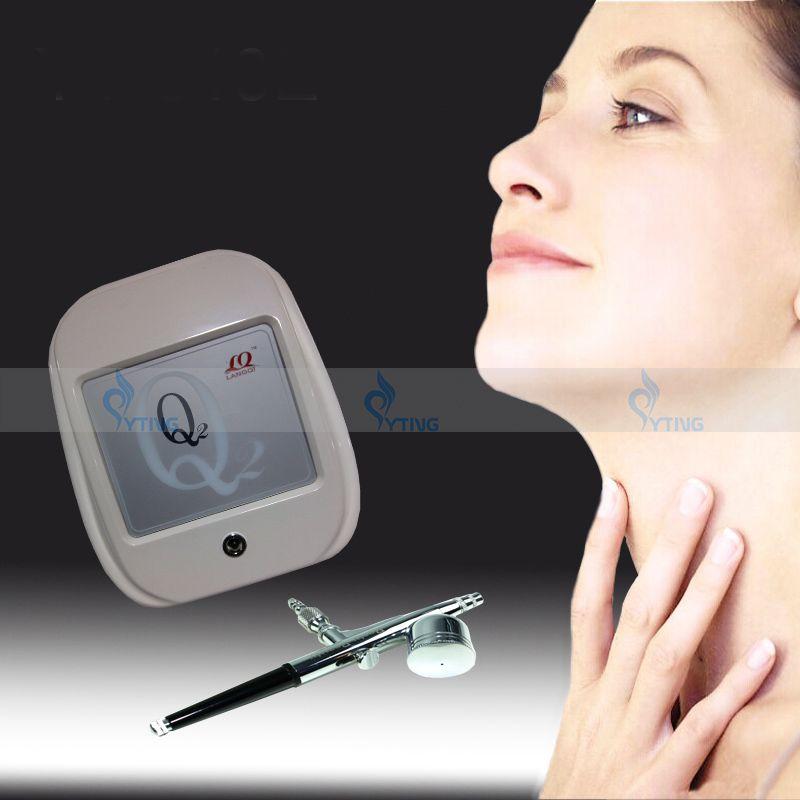 Portable Aqua Oxygen jet peel Facial Cleaning Machine Mini Hydro Facial Skin Care Renuvenation Acne Removal Bealuty Home Salon Use Device