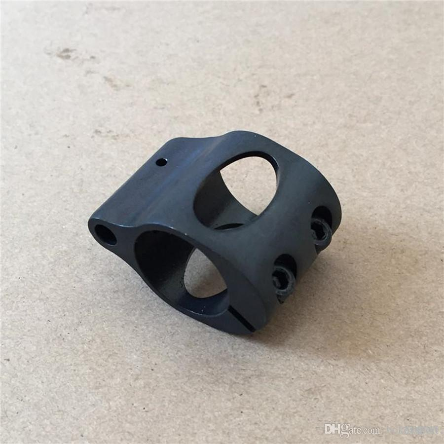 Steel Low Profile Micro Block 0.75 Inch steel Gas Block
