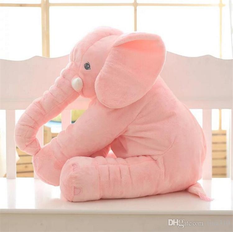 En Yeni Fil Burun Doldurulmuş Hayvanlar Doll Yumuşak Peluş Stuff Oyuncak bebek hediye yumuşak Bel Yastıklar 50 * 60 cm 4656