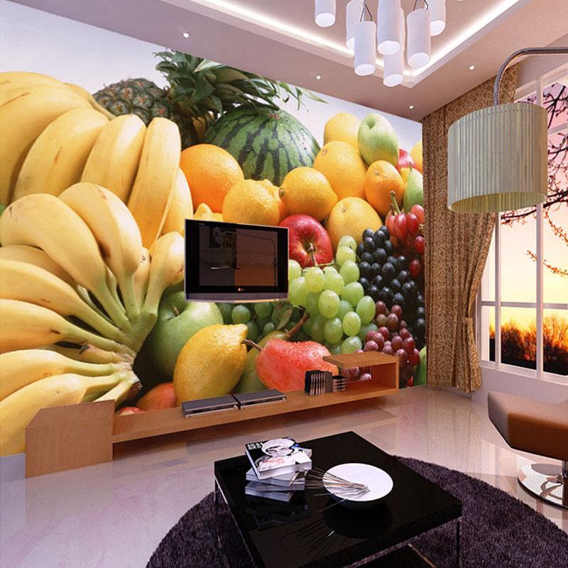 Wholesale Custom 3d Photo Wallpaper Fruits Vegetables Decor Painting Kitchen  Living Room Bedroom Wall Mural Wallpaper Papel De Parede 3d Wallpapers En  Hd ...