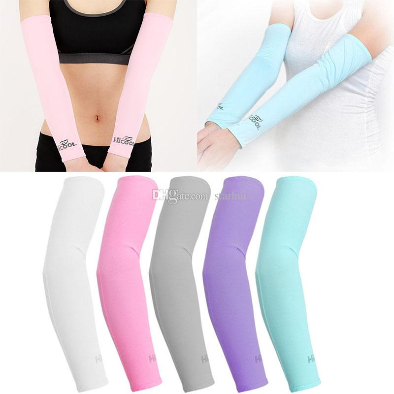 Sports Sleeves Cooling Arm Sleeves Uv Sports Sleeves Unisexed Available In Various Designs And Specifications For Your Selection Cycling
