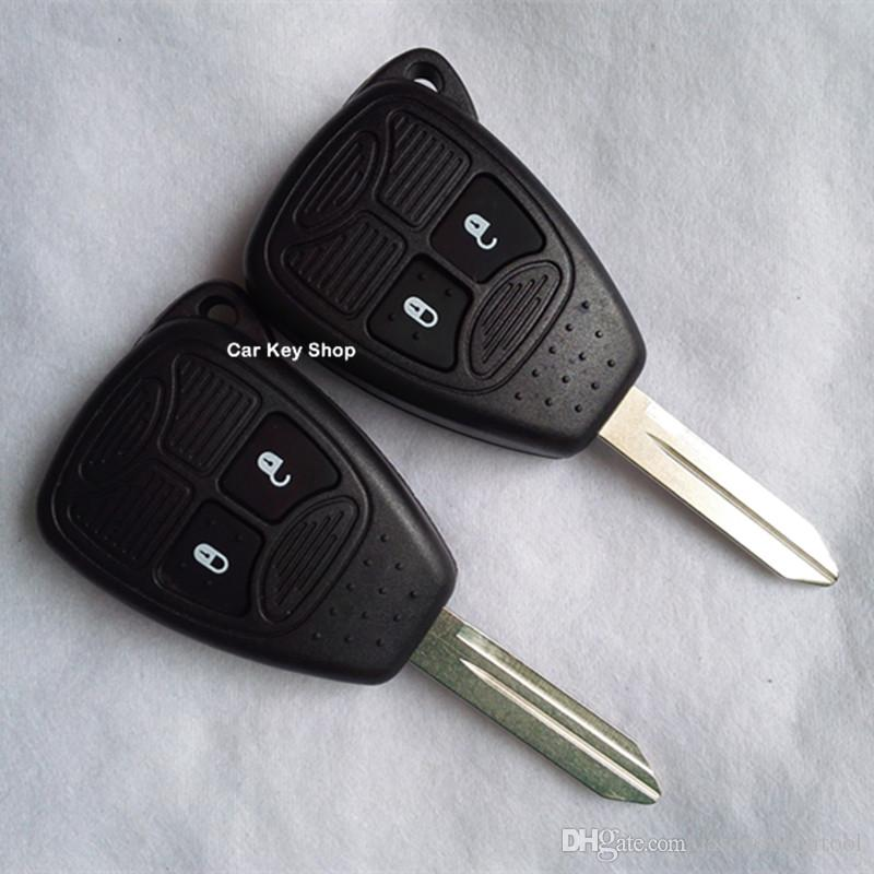 For Chrysler 2 Button Remote Key Shell REMOTE KEYLESS ENTRY FOB KEY CASE