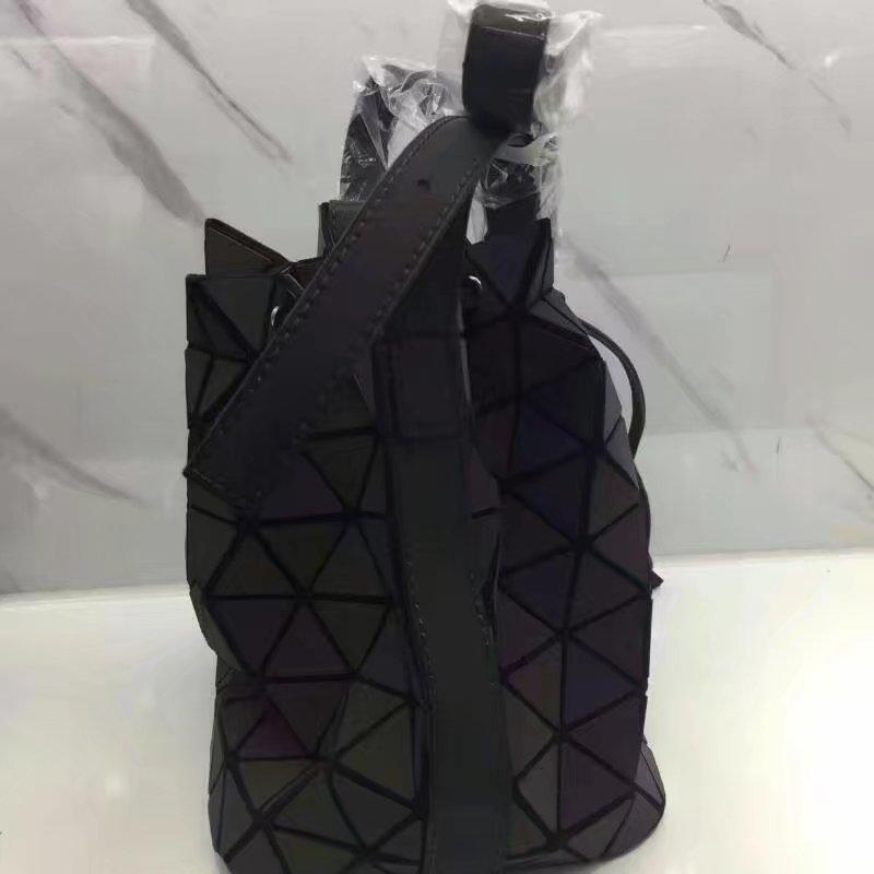 Últimas mujeres bolsas de hombro material nanómetro camaleón cubo nueva viga boca de calidad superior envío libre