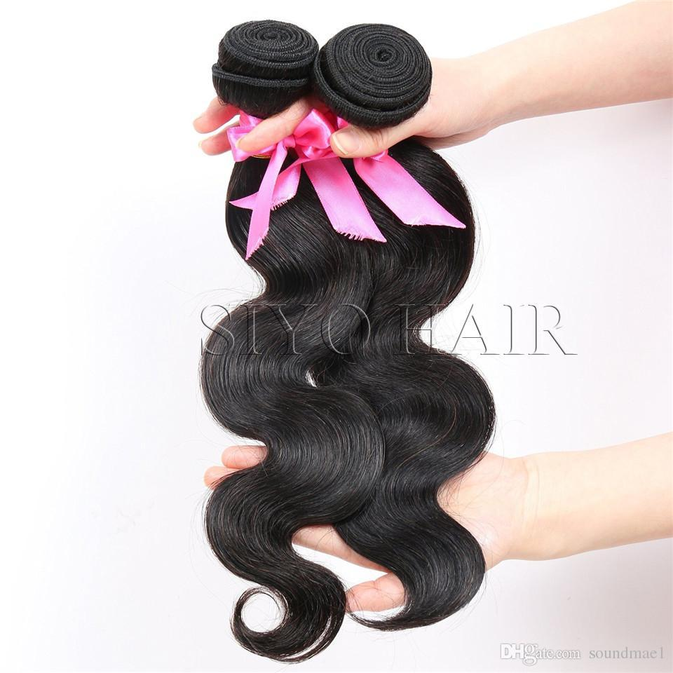 Brazilian Unprocessed Body Wave Human Hair 3 Bundles Vmae Brazilian