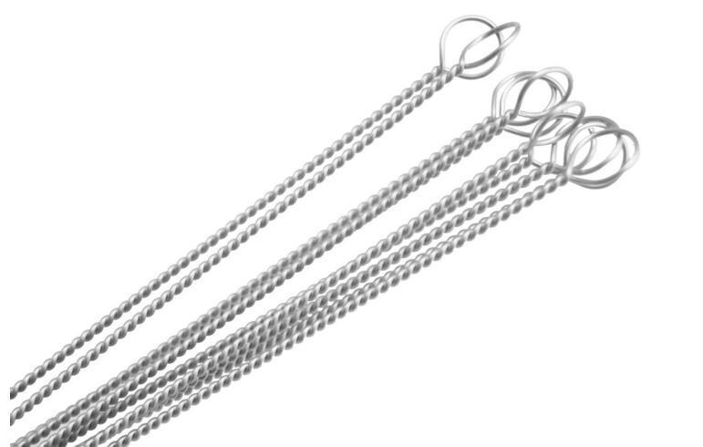 Boru Temizleyiciler 170 mm Uzun DHL İçme Fırçalar Naylon Straw Biberon Temizleyicilerini Paslanmaz çelik Temizleme Fırçası Temizleme