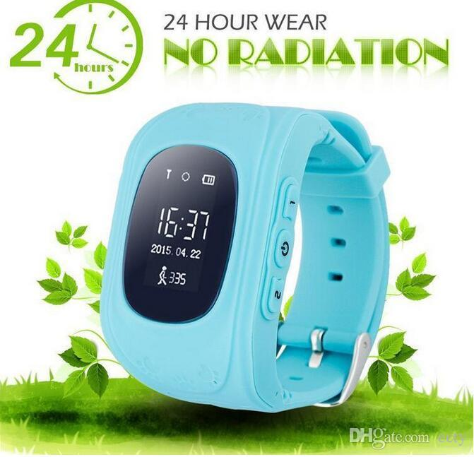 OLED Q50 Kids GPS Tracker Smart Watch Phone SIM Quad Band GSM Safe SOS Call PK Q80 Q90 Kid smart watch For Android & IOS