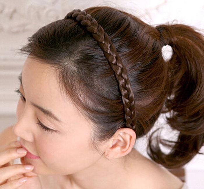 Новые выдвижения волос узоров шнурка застежки -молнии волнистые синтетические выдвиженческие выдвижения волос 4 цвета освобождают перевозку груза